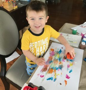 Painting with cars