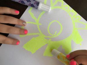 highlighter gel crayons