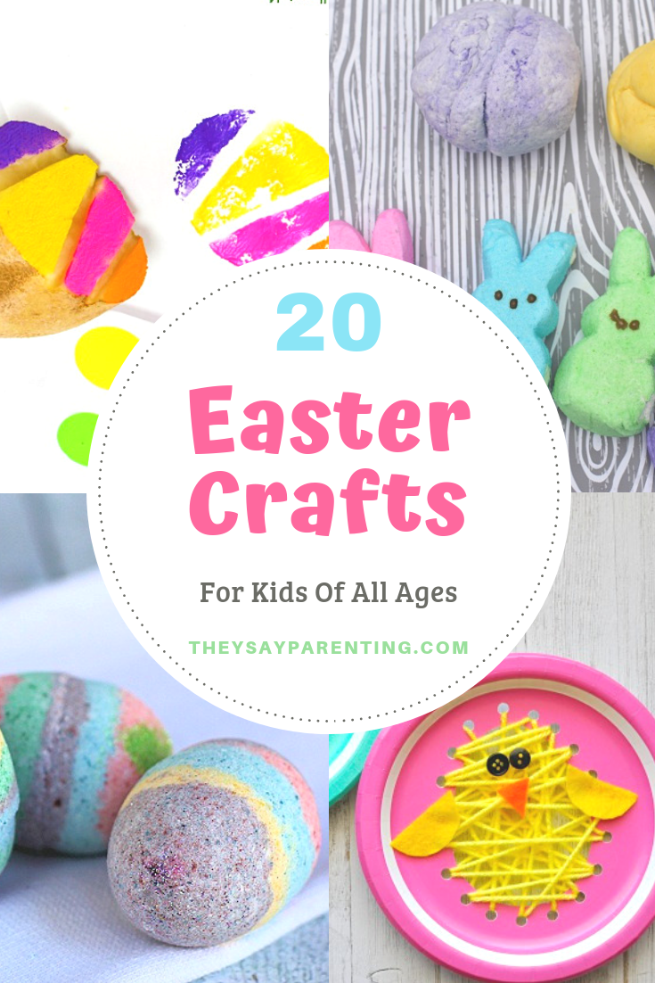 20 Easter Crafts For Kids They Say Parenting